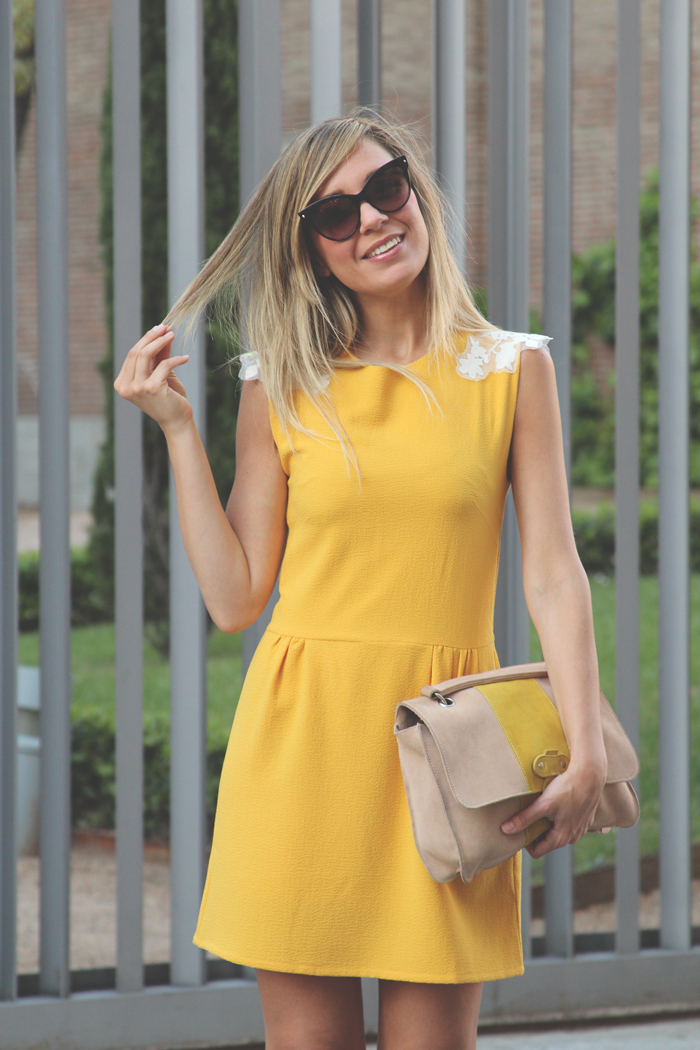 teenvogue, MY SHOWROOM, yellow dress, yellow shoes, sandals, pepa loves, fashion blogger, Priscila Betancort, Carlos Toun, dior mohotani, blonde, tendencias de verano, SS13,