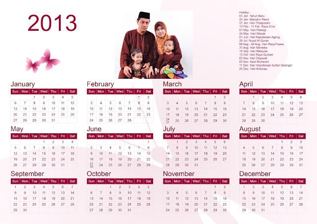 Calender 2013 & Jadual Gaji 2013