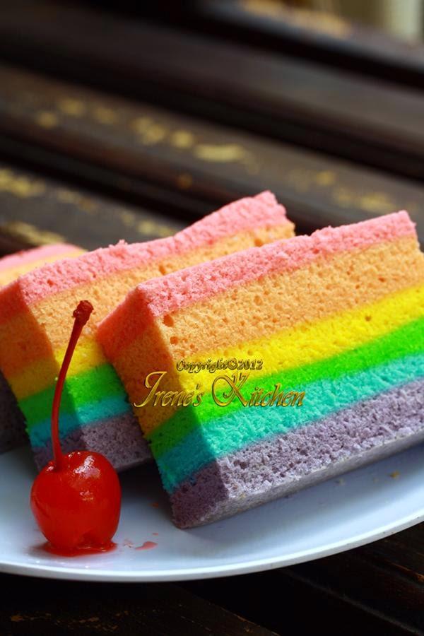 Irene s Kitchen: CAKE KUKUS RAINBOW