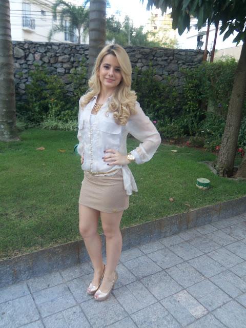 Look Dourado- Jessica Harumy