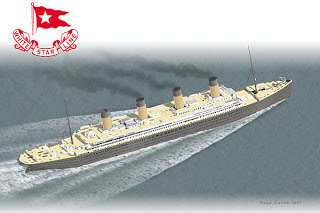 RMS Titanic Papercraft Model