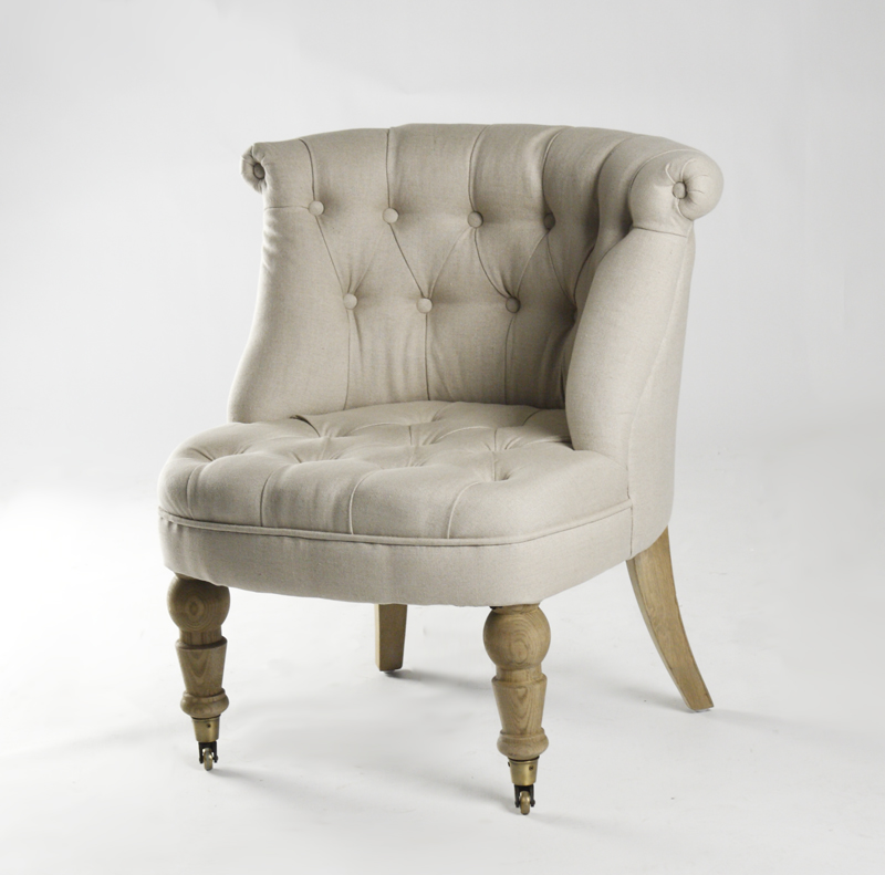 Southern Chateau: You Need a Slipper Chair in Your Life!
