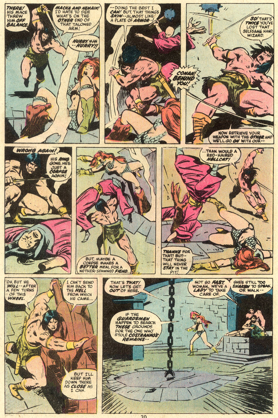 Conan the Barbarian (1970) Issue #78 #90 - English 17