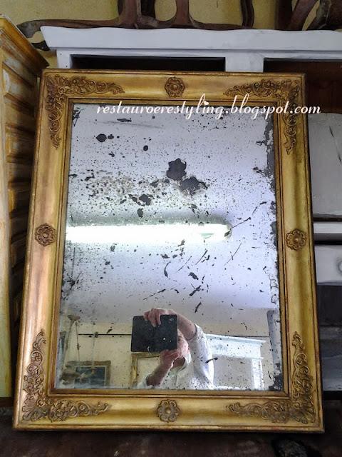 Specchio specchio delle mie brame for Specchio antico rovinato