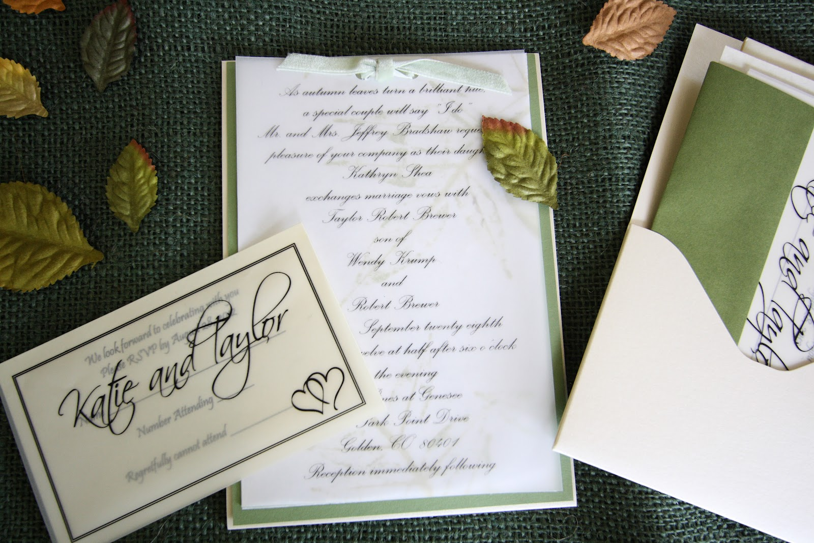 His, Hers and Ours DIY: WEDDING INVITATIONS