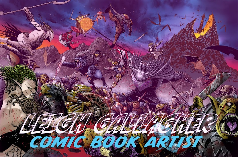 LEIGH GALLAGHER Comic Book Artist