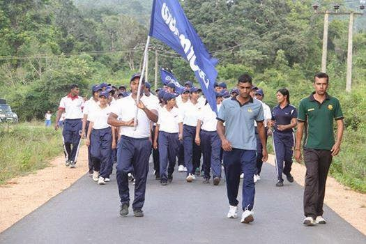 Gannoruwa Army Camp Leadership Training University