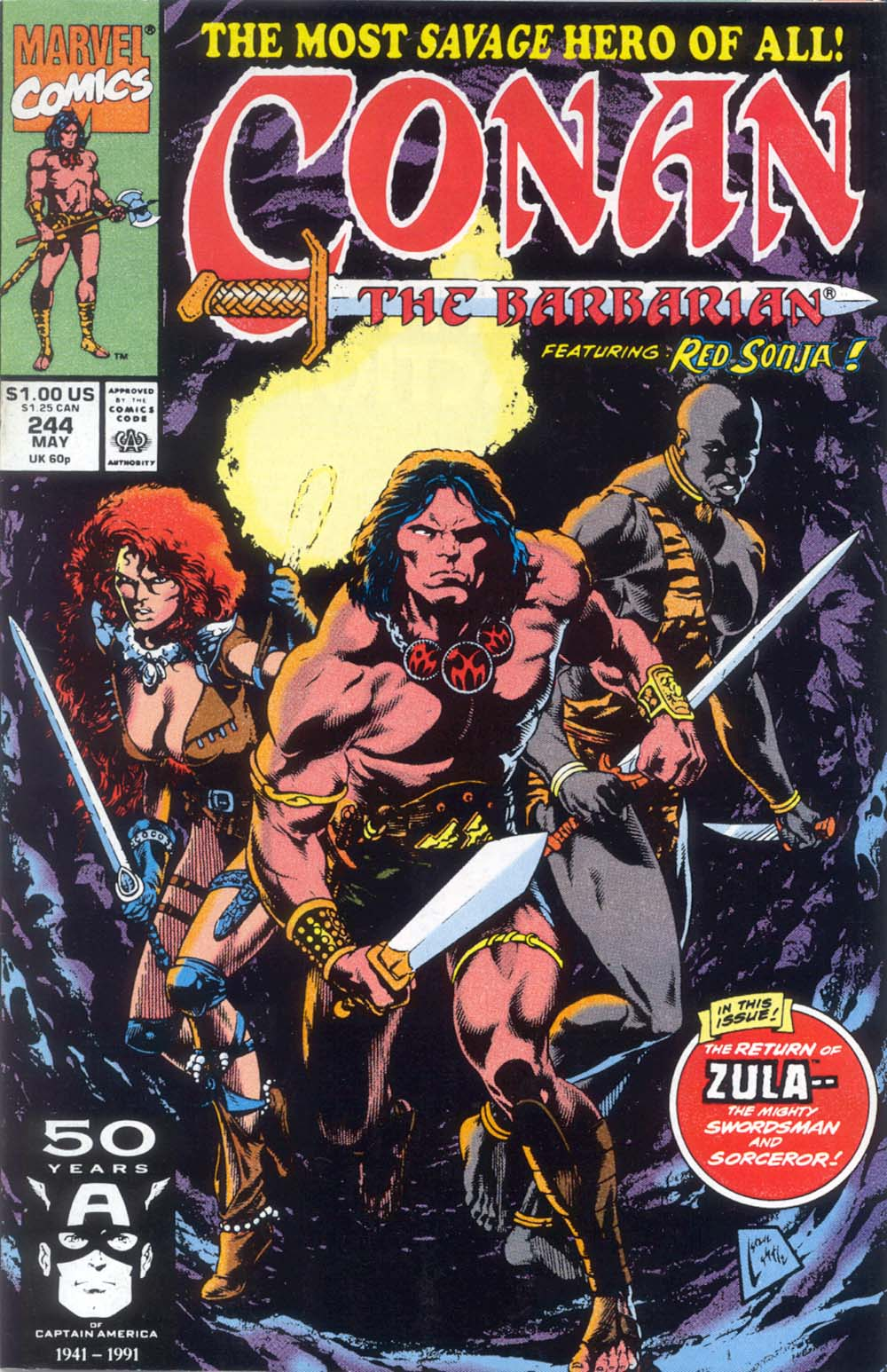 Conan the Barbarian (1970) Issue #244 #256 - English 1