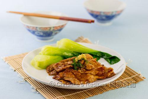 日式薑汁豬肉 Japanese Ginger Pork02