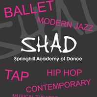 I teach at Springhill Academy of Dance