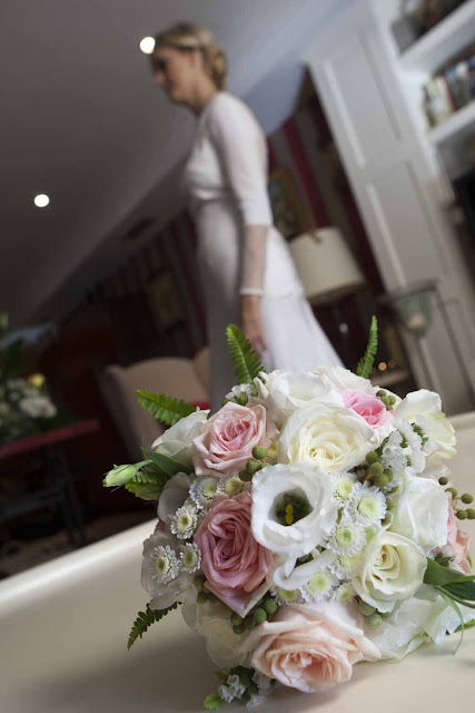 Ramo novia bouquet rosas