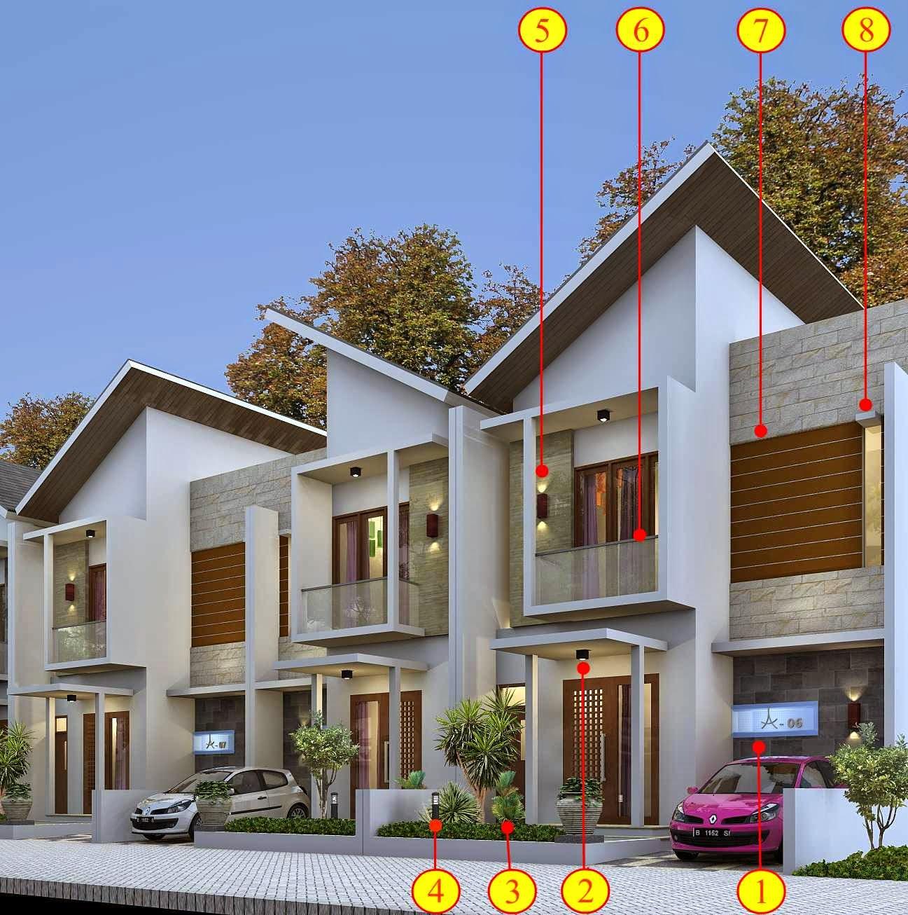 rumah minimalis type 70 tampak depan