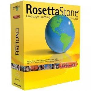 rosetta stone Curso de Inglês Rosetta Stone