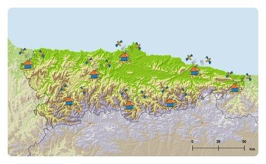 SitpaIdeas Red GNSS Activa del Principado de Asturias