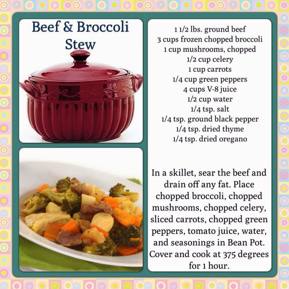 Celebrating Home Recipes: Beef and Broccoli Stew