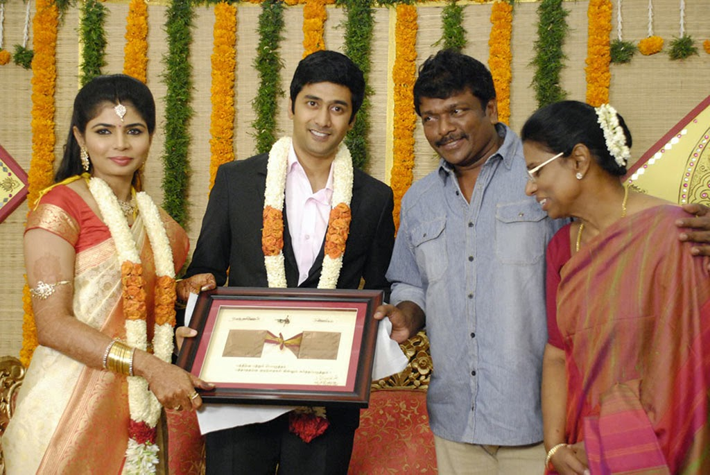 Rahul and Chinmayi wedding reception photos-HQ-Photo-13