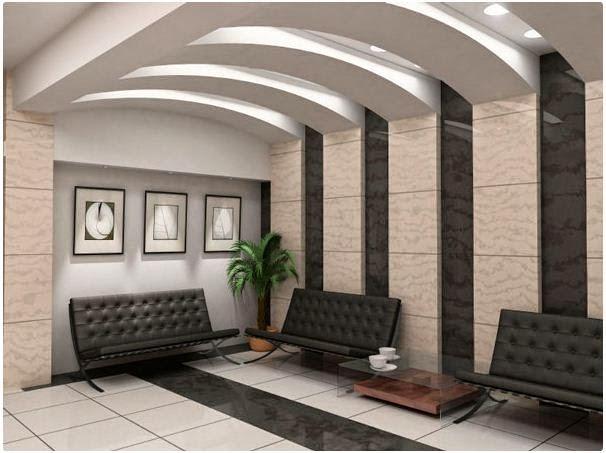 Cool modern false ceiling designs for living room 2018 for False roofing designs