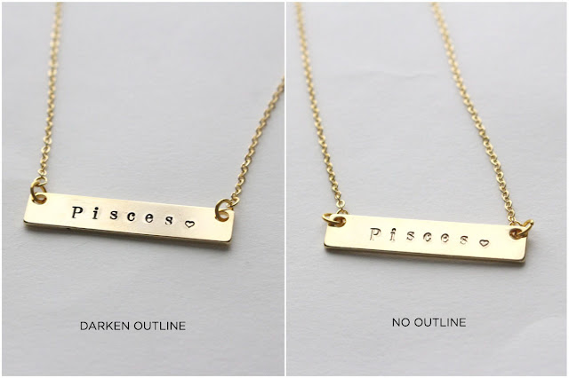 NAME TAG ID NECKLACE by BLK AND NOIR