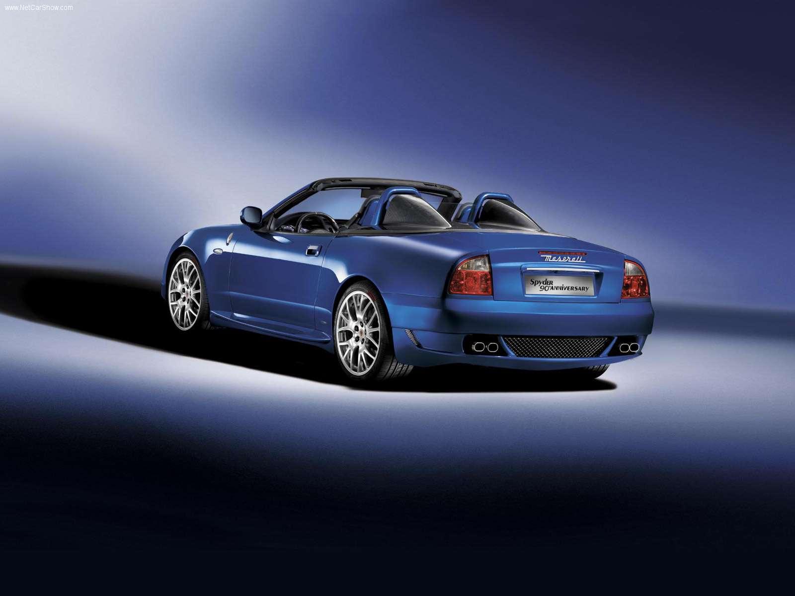 Hình ảnh siêu xe Maserati Spyder 90th Anniversary 2004 & nội ngoại thất