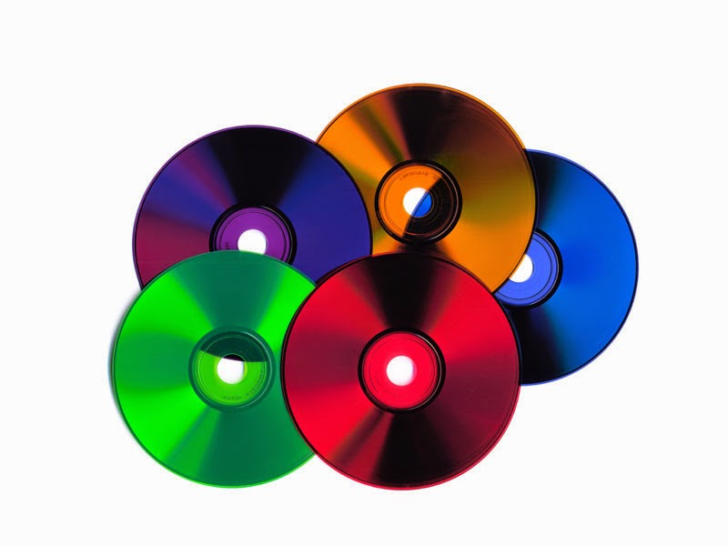 Colored CDs image