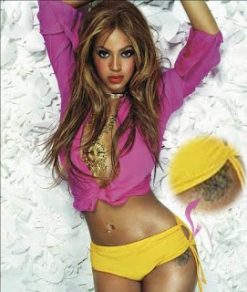 Celebrity Beyonce Hip Tattoo Design Photo Gallery - Beyonce Hip Tattoo Ideas for Girls