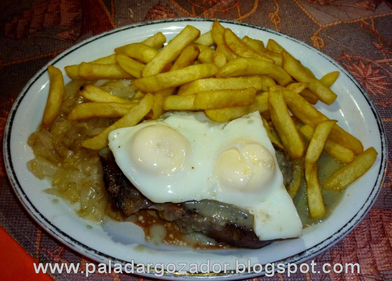 Lomo Arriero en Restaurante El Cordobés Santiago