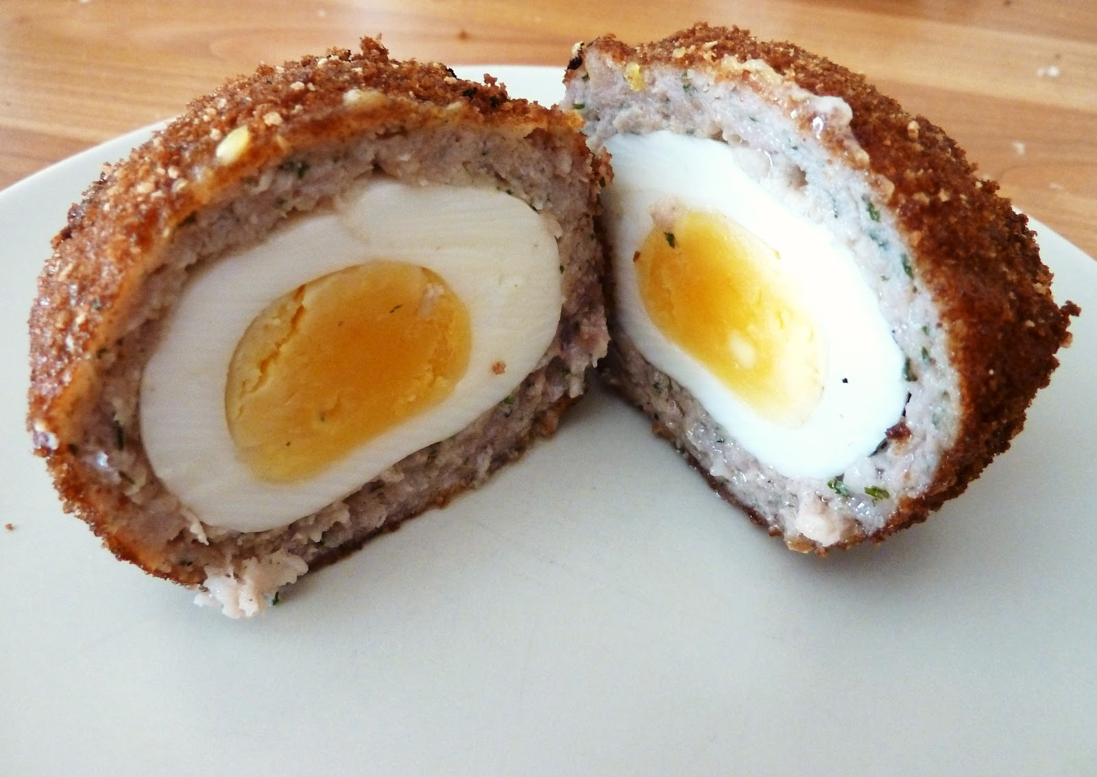 it s a gluten free scotch egg my wheat intolerant sister was ...