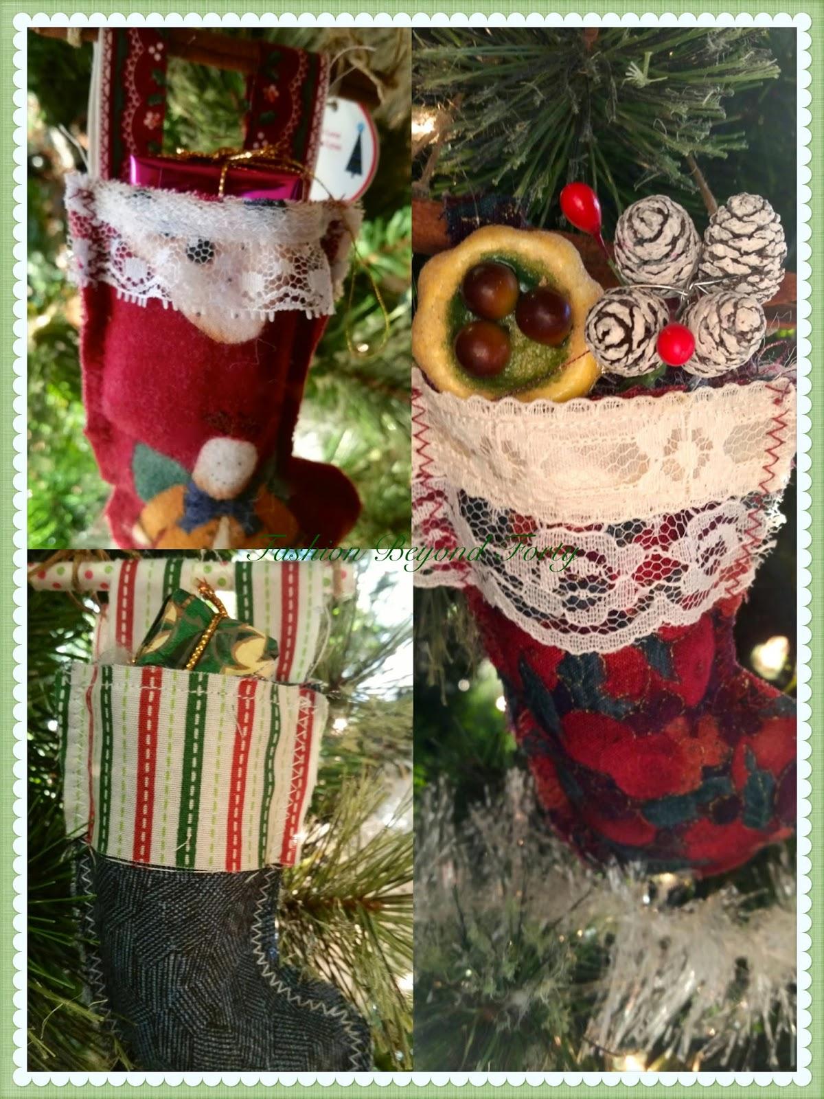 Fashion Beyond Forty Happiness Is Grandma Lynn's Christmas Ornaments