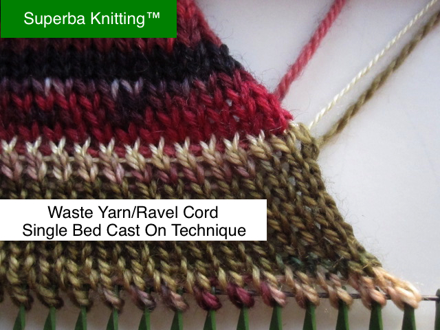 Superba Knitting™: Double Bed Knitting Machine Settings For ...