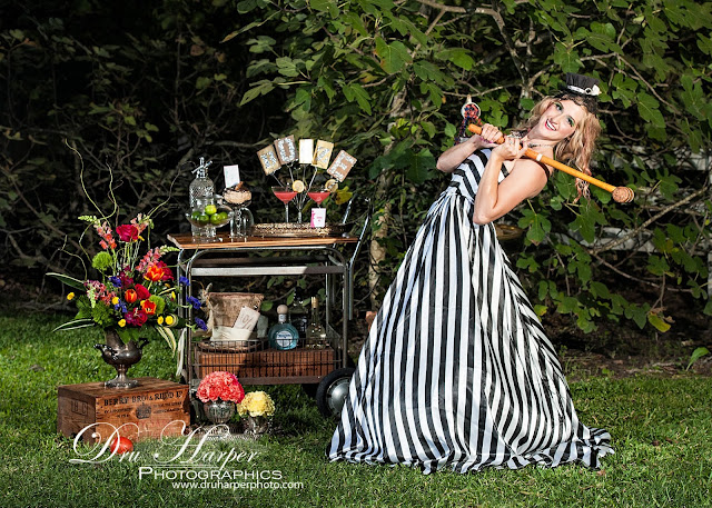 Mad Hatter Wedding in Montgomery County _ Vintage Rentals _ Croquet