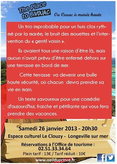 La com dia d 39 essarts agenda spectacles - Office de tourisme de longeville sur mer ...