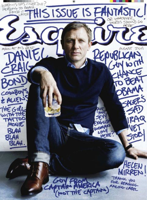 Daniel Craig 'Esquire' Magazine Cover Photos