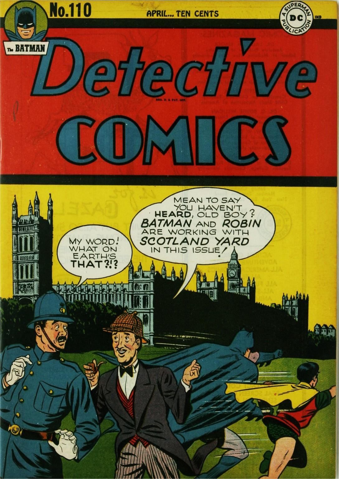 Detective Comics (1937) 110 Page 1