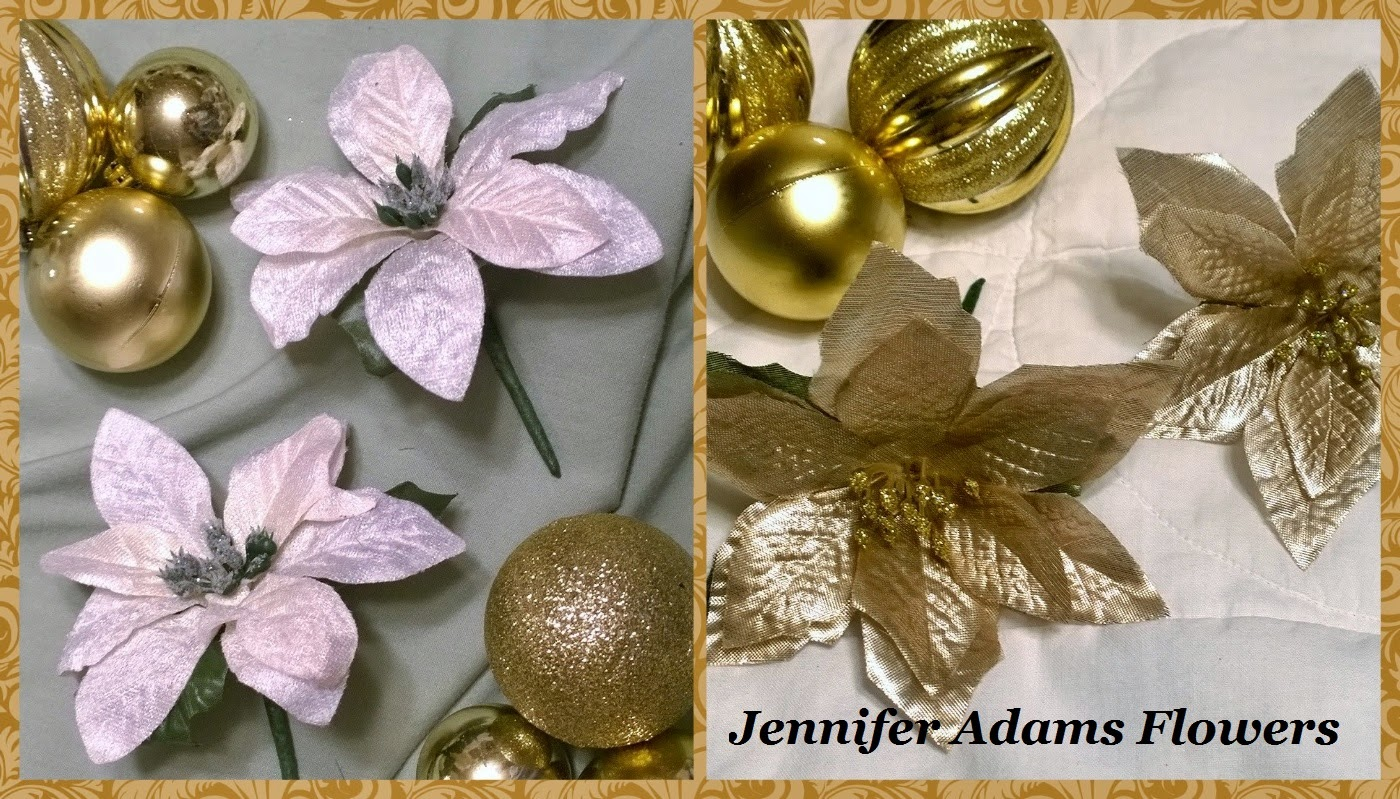 Jennifer Adams Flowers Champagne Sparkle Wedding 17 Pc Package