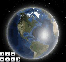 Rotating map gadget