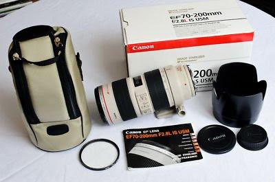 Lensa Canon EF 70-200mm