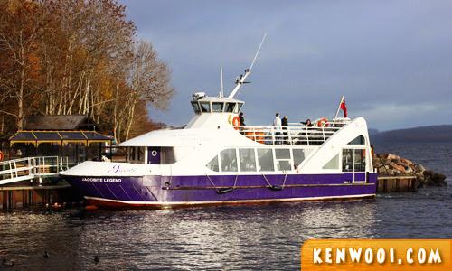 jacobite cruise boat