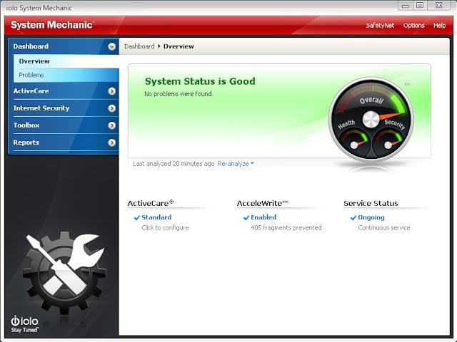 اصلاح وتنظيف الجهاز وتسريع الويندوز بشكل تلقائي System Mechanic Free  Sm_screenshots_overview_large%5B1%5D