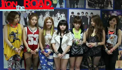 t-ara CCM on the road
