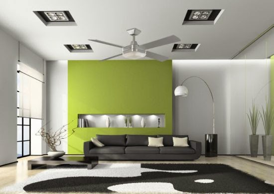 Gambar Plafon rumah minimalis terbaru.