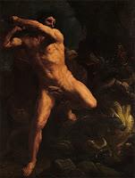Геракл убивает Лернейскую гидр