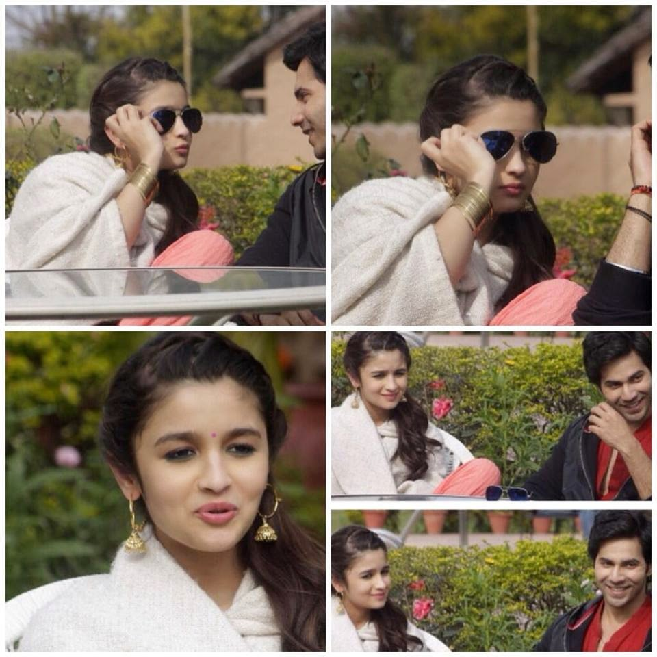 Alia Bhatt & Varun Dhawan on the sets of their upcoming Humpty Sharma Ki Dulhania