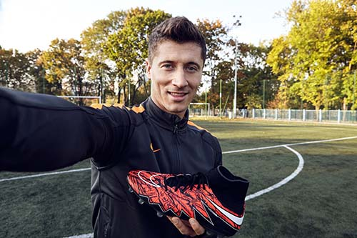 Exclusive Nike Hypervenom II for Robert Lewandowski