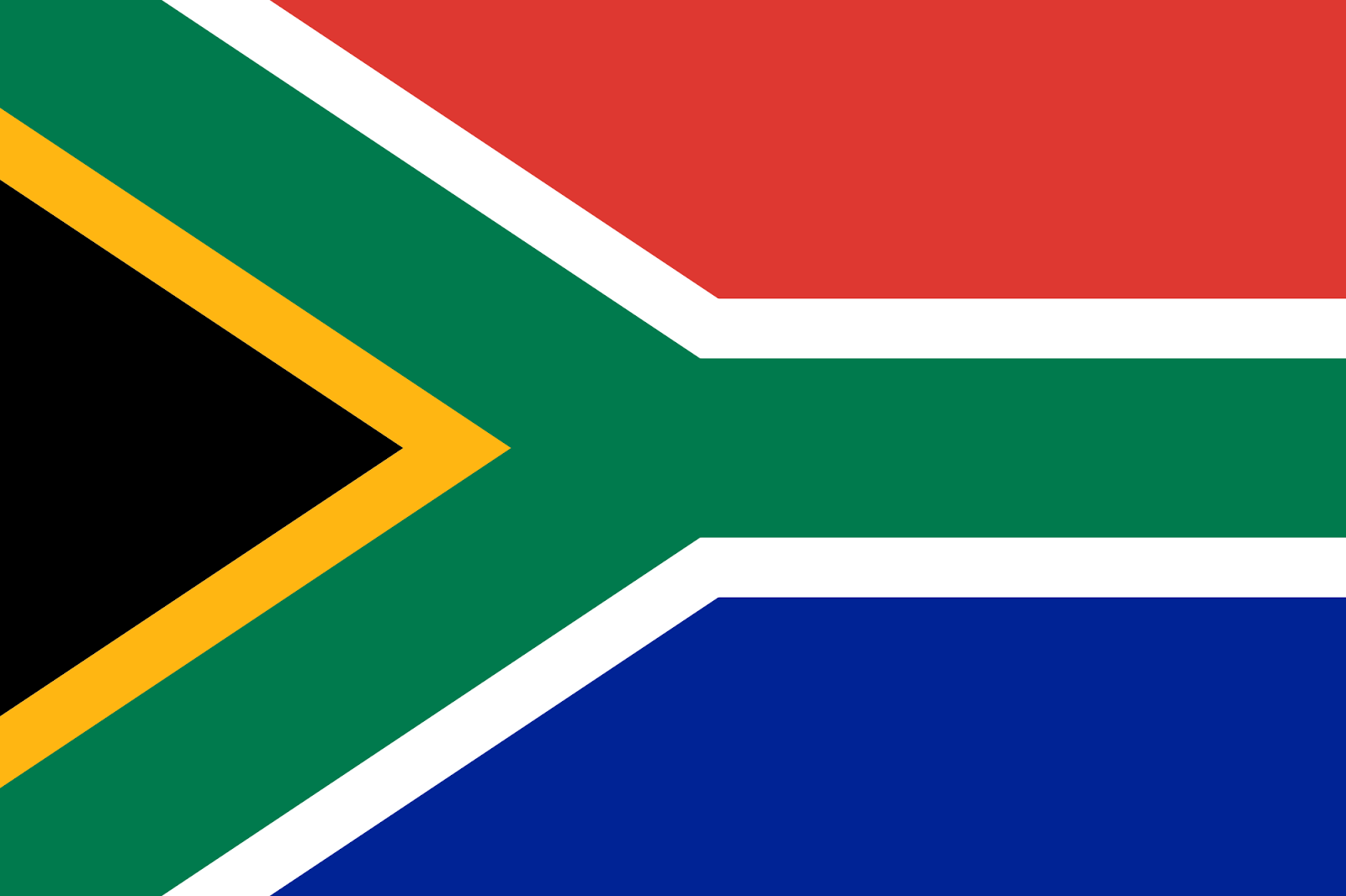 National Flag Of South Africa Pictures
