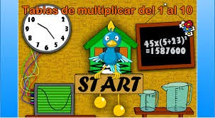 http://www.cyberkidz.es/cyberkidz/juego.php?spelUrl=library/rekenen/groep5/rekenen3/&spelNaam=Tablas%20de%20multiplicar%20del%201%20al%2010&groep=5&vak=rekenen