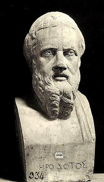 1 геродот (490/480 - 430/424 до нэ) если уж открывать галерею, посвящённую людям далёкого прошлого