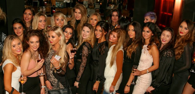 fashion bloggers with Michelle Keegan