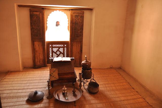 Marrakech Madersa Ben Youssef room