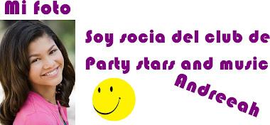 Soy socia del club de Party Stars and Music