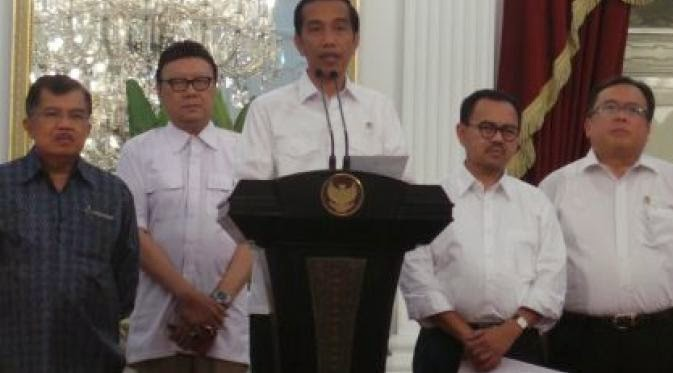 Presiden Mengumumkan Kenaikan Harga BBM di Istana Pukul 21.00